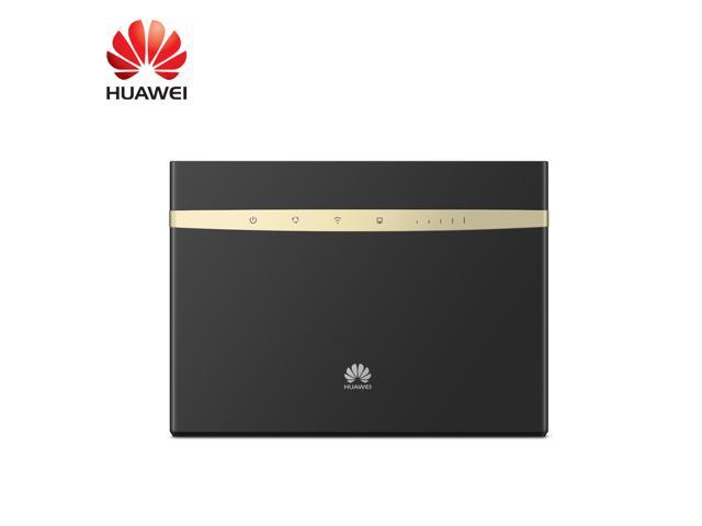 Huawei B525 Black UNLOCKED 4G 300Mbps mobile Wi-Fi Router AC1600 SIM Card  Router with Antenna(Black) - Newegg com