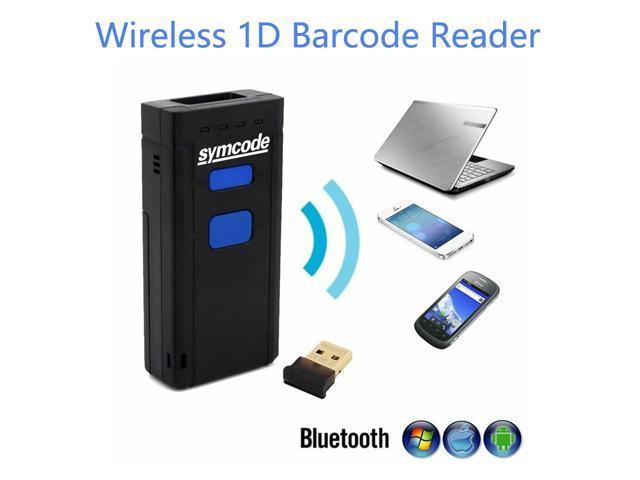 Symcode Bluetooth Wireless 1D Barcode Scanner 1D Barcode Reader Support iOS  Windows - Newegg com