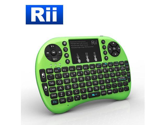 Rii i8+ Wireless Mini Keyboard Mouse Touchpad with Backlight for Smart TV  PS4 PC - Newegg com
