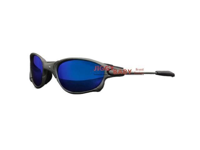 Squared X-Optics Metal Frame Polarized Sunglasses with Silver Iridium Lenses