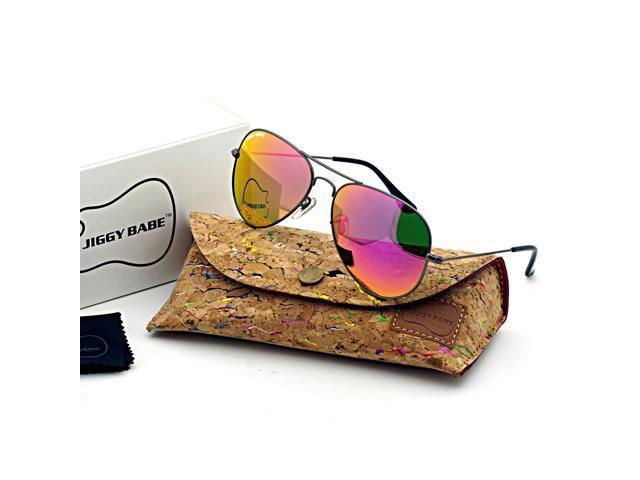 cd9085c19 La parte superior marca diseñador 3025 Aviator gafas de sol UV400 Retro  Vintage gran Metal hombre