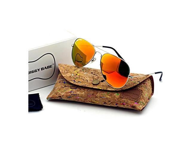651af7535b Marca de fábrica superior nombre diseñador 3025 Aviator gafas de sol UV400 Retro  Vintage gran Metal