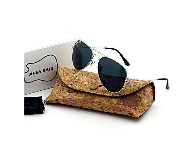 eed3d6162b47 Top Brand Name Designer 3025 Aviator Sunglasses Polarized UV400 Driving Retro  Vintage Pilot Large Metal Men