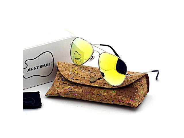 6dd6d82887 Top Brand Name Designer 3025 Aviator Sunglasses UV400 Retro Vintage Large  Metal Men Women