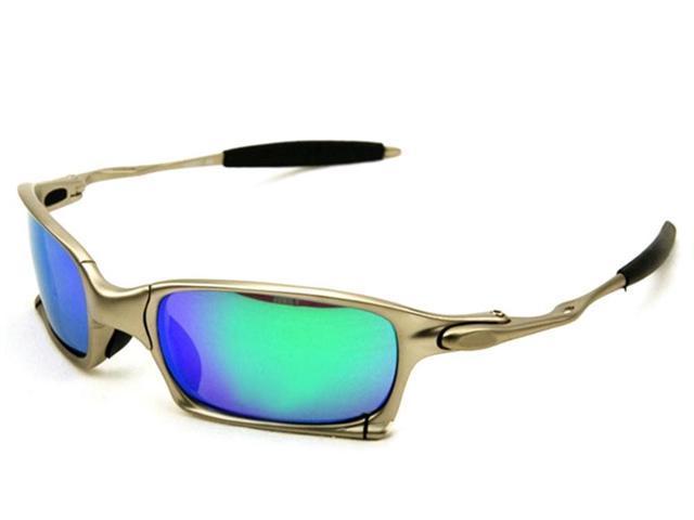 Top Original Brand Designer X Metal X Squared Sunglasses Polarized Sports Men Women Aluminum Alloy Frame Eyewear Sun Glasses Iridium Mirror High
