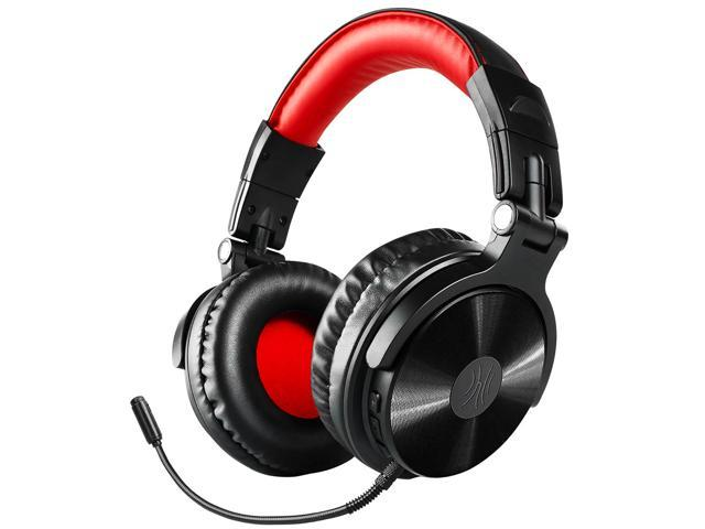 Bluetooth Over Ear Headphones, OneOdio Wired Gaming Stereo Headsets with  Detachable Mic for PS4, Xbox one, PC, Cell Phones, Office, Wireless Headset