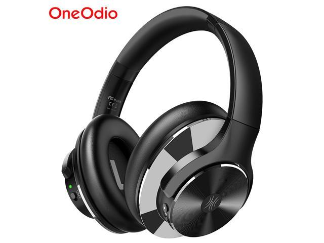 Oneodio A10 Active Noise Cancelling Headphones 750mah Bluetooth 5 0 Wireless Headset With Microphone Usb C Fast Charging Over Ear Headphone Newegg Com