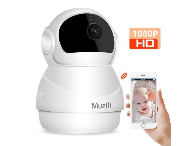 Muzili Wireless Camera 1080P IP WiFi Home Security surveillance Camera 2-Way Audio Motion Detection Remote Control with Night Vision Pan/Tilt/zoom