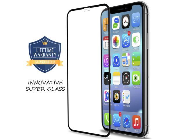 Vanford - [2-Pack] Premium Tempered Glass Screen 3D Protector for Apple  iPhone XR [6 1''] [Edge to Edge Full Screen Coverage] Easy Installation