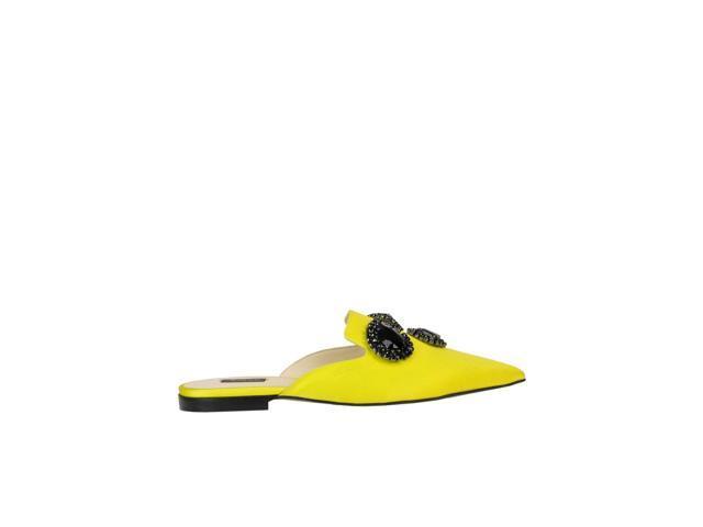 Mcglcab000005077e Pinko Amarilla Mujer Sandalias De Tela Tl1JFcK