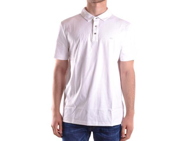 113db2fb MICHAEL KORS MEN'S CB95FGVC93100 WHITE COTTON POLO SHIRT Men's Casual Shirts  - Newegg.com