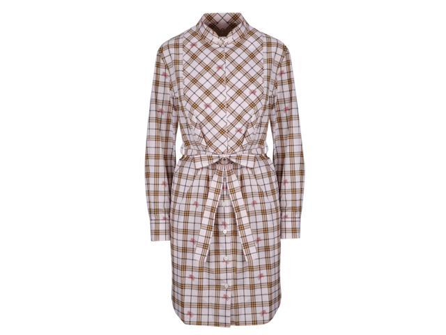 657aaf4313f40 BURBERRY WOMEN S 8008140 BEIGE COTTON DRESS - Newegg ...