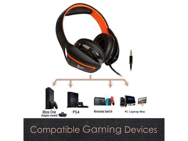 TRITTON ARK 120 3 5mm Wired Amplified Stereo RGB Gaming Headset for PC,  Playstation 4, Xbox One, Nintendo Switch - Newegg com