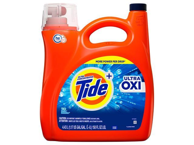 Tide Ultra Oxi HE Liquid Laundry Detergent (110 Loads, 150 oz  ) -  Newegg com