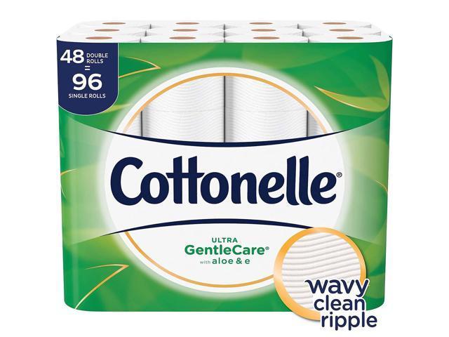 Cottonelle Ultra GentleCare Toilet Paper Sensitive Bath Tissue with Aloe /& E,