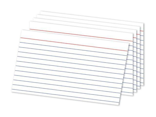 Office Depot® Brand Ruled Index Cards, 5