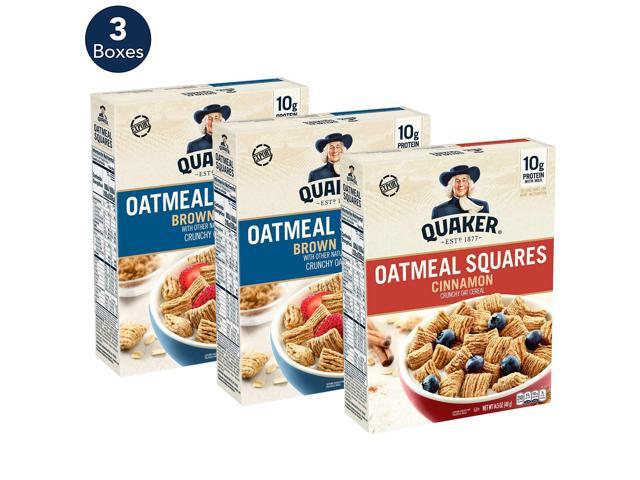 Quaker Oatmeal Squares Breakfast Cereal