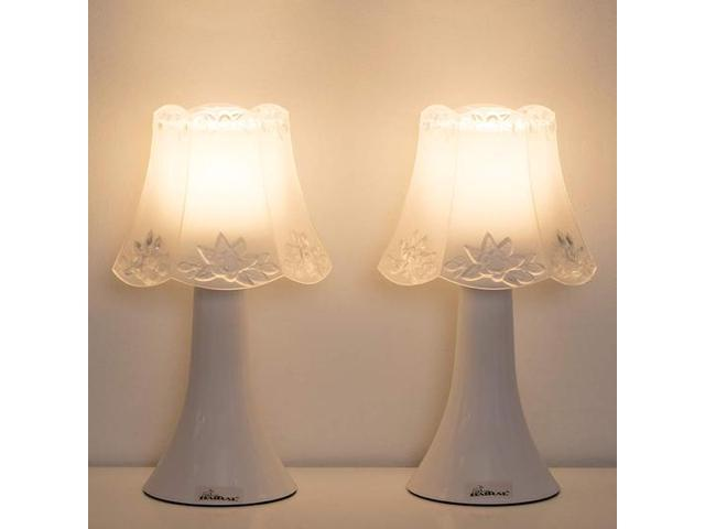 Haitral Small Nightstand Lamps Modern Table Lamp Set Of 2