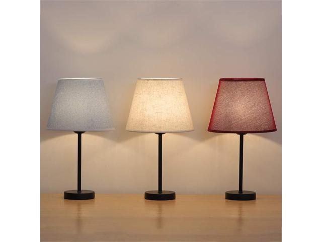 Small Bedside Lamps With 3 Colors