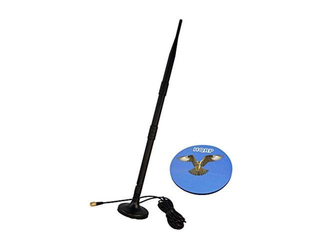 hqrp 2 4-2 5ghz 9 dbi rp-sma wifi booster wireless antenna plus 3m rp-sma  wifi antenna extension cable connectors wlan for d-li - Newegg com