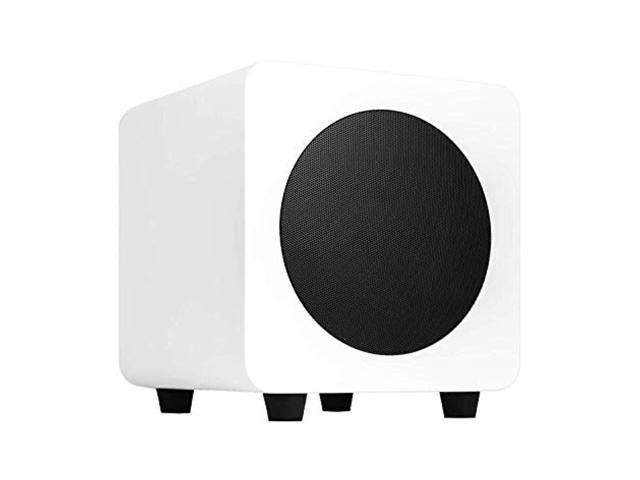 Kanto SUB6 Matte White 6-inch Powered Subwoofer