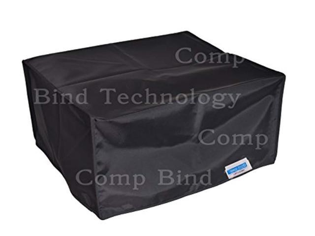 comp bind technology printer dust cover for hp officejet pro 8610 / 8620 /  printer black dust cover - 20 5''w x 19 25''d x 12''h - Newegg com