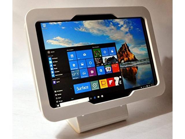 MS Surface 3 Black Acrylic VESA Security kit for Kiosk Show POS Store Display