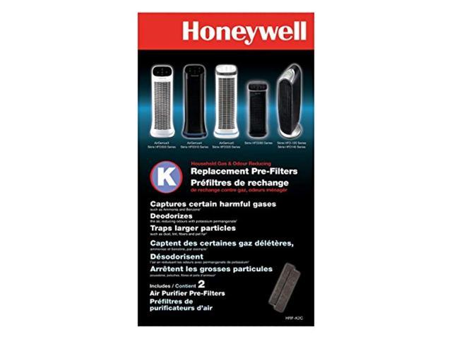 Honeywell HRF-K2 Household Odor and Gas Reducing Pre-filter 2 pack