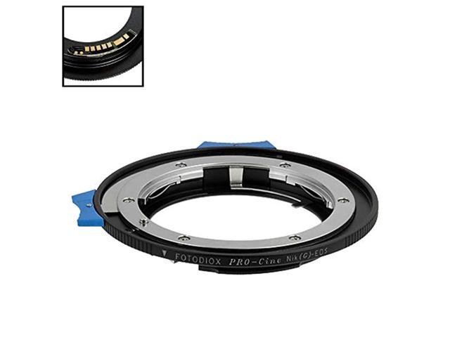 Fotodiox Pro Lens Mount Adapter Compatible with Nikon F-Mount G-Type Lenses to C-Mount Cameras