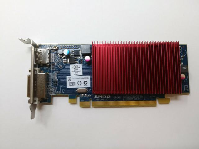 Dell 6XMMP AMD Radeon HD6450 1GB PCIe Video Card TESTED !! LOW PROFILE