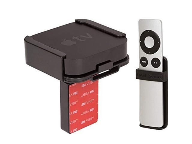 Apple TV Mounting Shelf and Remote Holder (for 2nd and 3rd Generation Apple  TVs) - Newegg com