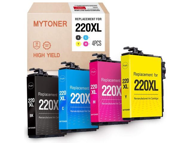 Ink Cartridge Replacement for Epson 220XL 220 XL 220 Ink for
