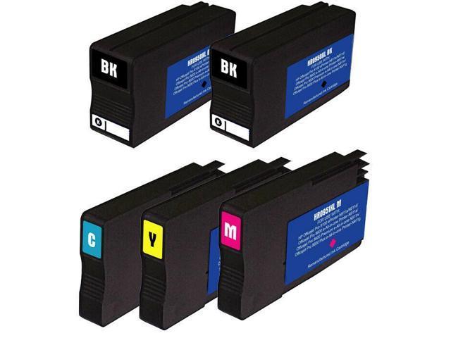 3pk #901XL Ink Cartridges CC654AN CC656AN for HP OfficeJet G510 J4524 J4540