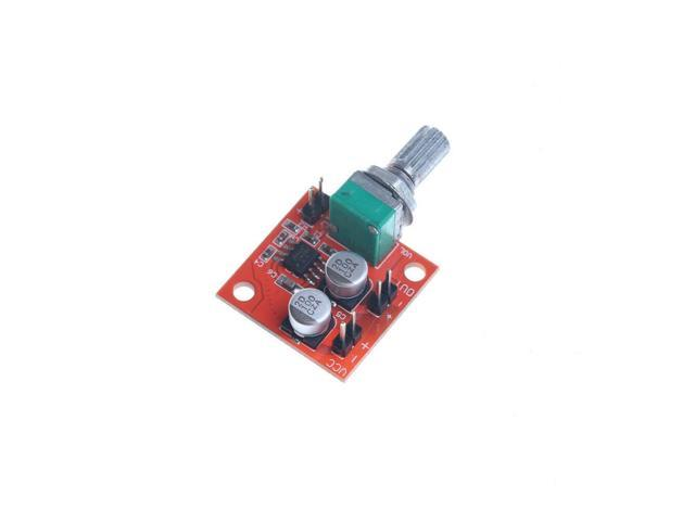 LM386 Electret Microphone Power Amplifier Board Gain 200 Times DC 3.7V-12V Pip R