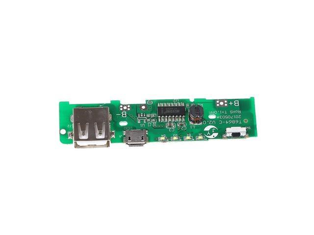 1Pcs Usb 5v 2a Mobile Power Battery Protection Diy Charger Pcb Board Module  Instrument Part & Accessories - Newegg com