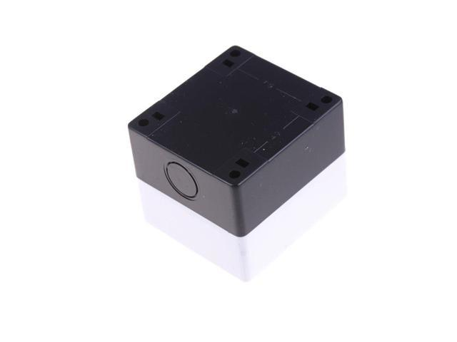 """1-Hole Switch Box for 22mm 7//8/"""" PushButton Plastic Enclosure Power Push Button"""