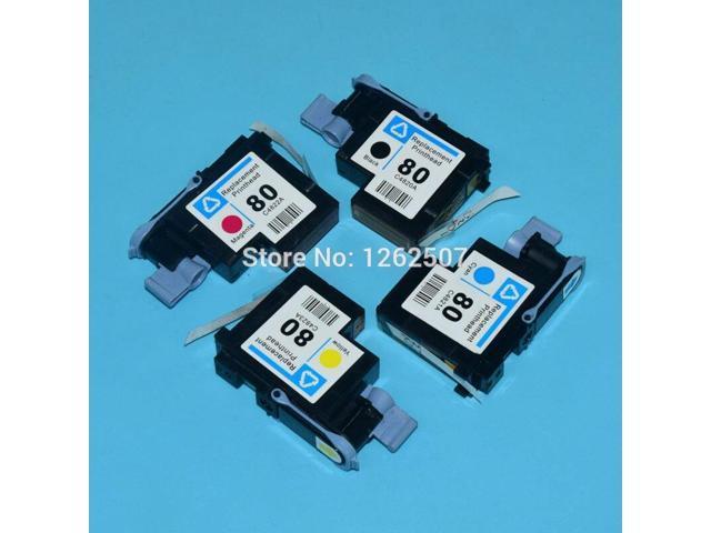 c4820a c4821a c4822a c4823a For hp 80 printhead for hp designjet 1050 1055  1000 1000plus plotter print head printer spare parts - Newegg com