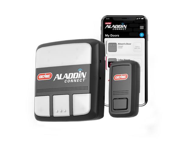 Aladdin Connect Wifi Smart Garage Door, Genie Outdoor Garage Door Opener