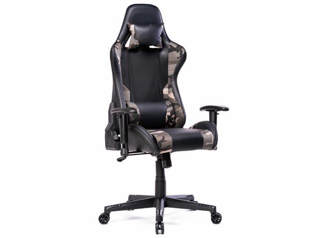 Image of Prime Selection Products Office Gaming Chair; High Back, Reclining Backrest and Adjustable Armrests