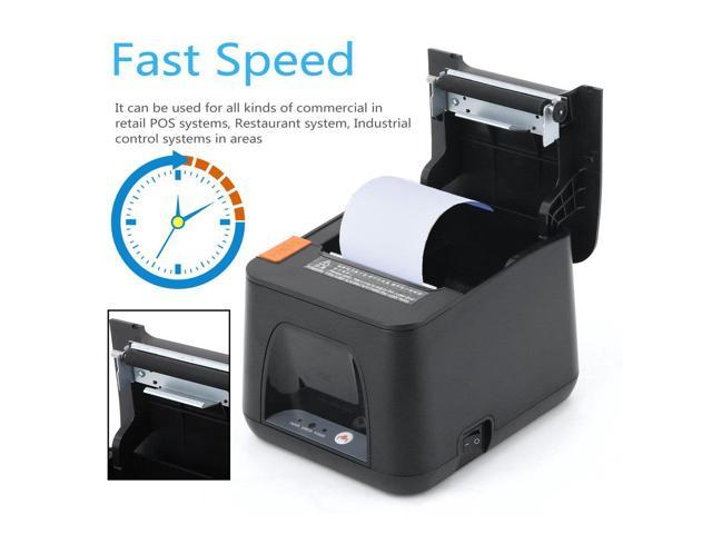 Lightweight Portable 80mm Receipt POS Thermal Printer For ios & for Android  & for Windows Thermal Printing US - Newegg com