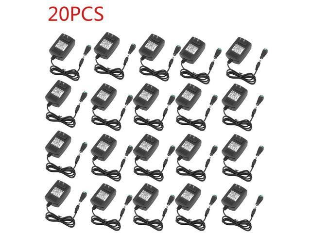 20pcs ac dc power supply adapter converter charger transformer 12v 2a for led strip wireless