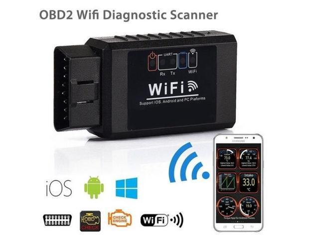 ELM327 WIFI OBD2 OBD Auto Car Diagnostic Scan Tool iPhone Android Scanner  Reader - Newegg com