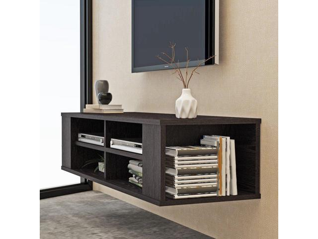 48 Inch Wall Mounted TV Cabinet Home Media Entertainment Console TV Board  Rack - Newegg com