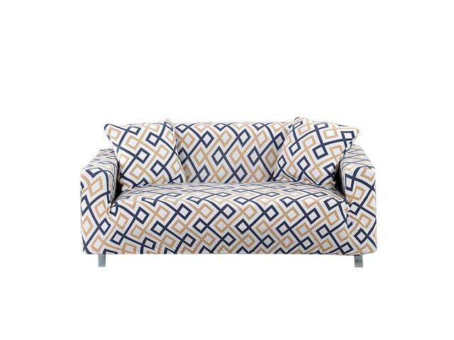 Astonishing Printed Elastic Stretch Sofa Cover 3 Seater Sofa Slipcover Furniture Protector Couch Cover Unemploymentrelief Wooden Chair Designs For Living Room Unemploymentrelieforg