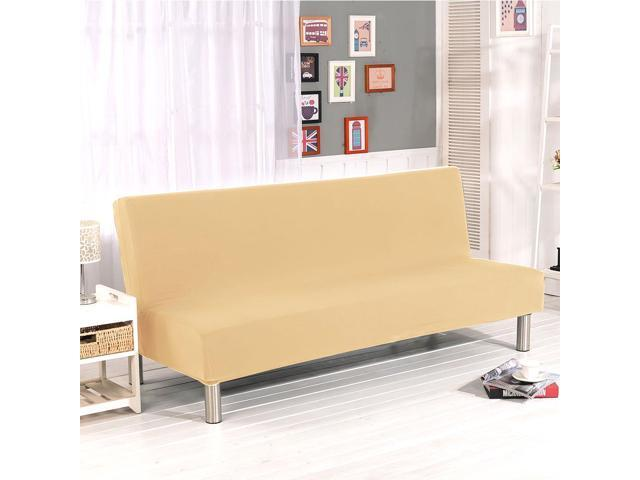 Miraculous Sofa Bed Cover Folding Armless Sofa Cover Futon Slipcover Couch Cover Stretch Sofa Slipcover Furniture Protector Bralicious Painted Fabric Chair Ideas Braliciousco