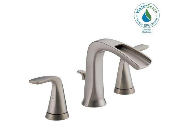 Delta Porter 8 In Widespread 2 Handle Bathroom Faucet In: Acceptable: Delta Tolva 8 In. Widespread 2-Handle