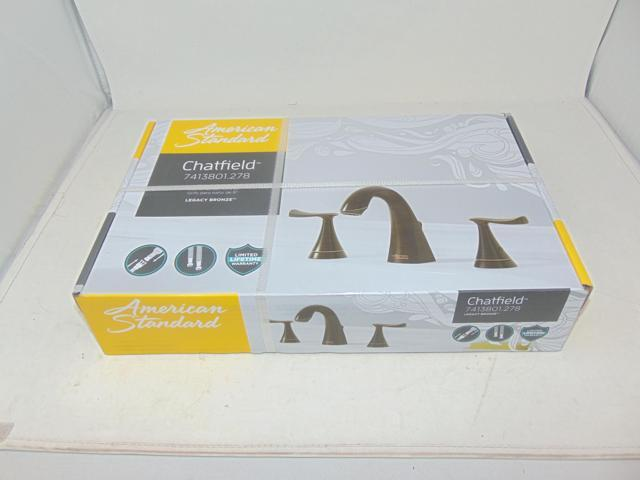American Standard Chatfield 8 In Widespread 2 Handle: Like New: Chatfield 8 In. Widespread 2-Handle