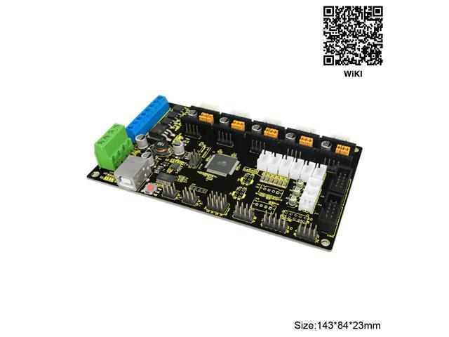 Keyestudio MKS Base Gen V1 2 3D Printer Controller Board for Arduino Reprap  - Newegg com