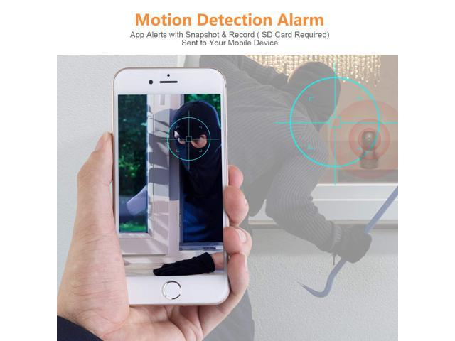 1536P 3MP IP Camera Wireless WiFi Indoor Home Security Surveillance Cameras  Compatible with Alexa Echo Show Face Recognition/Cloud Storage/Two Way