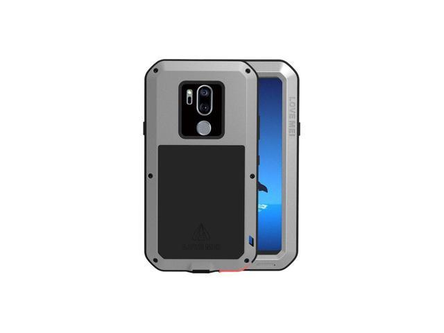 hot sale online 010c7 1c73c LG G7 Case,Bpowe LG G7 ThinQ Armor Tank Aluminum Metal Gorilla Glass  Shockproof Military Heavy Duty sturdy Protector Cover Hard Case for LG G7  ...